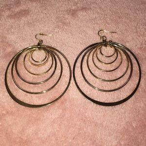 Jewelry - Hoop Layered Earrings